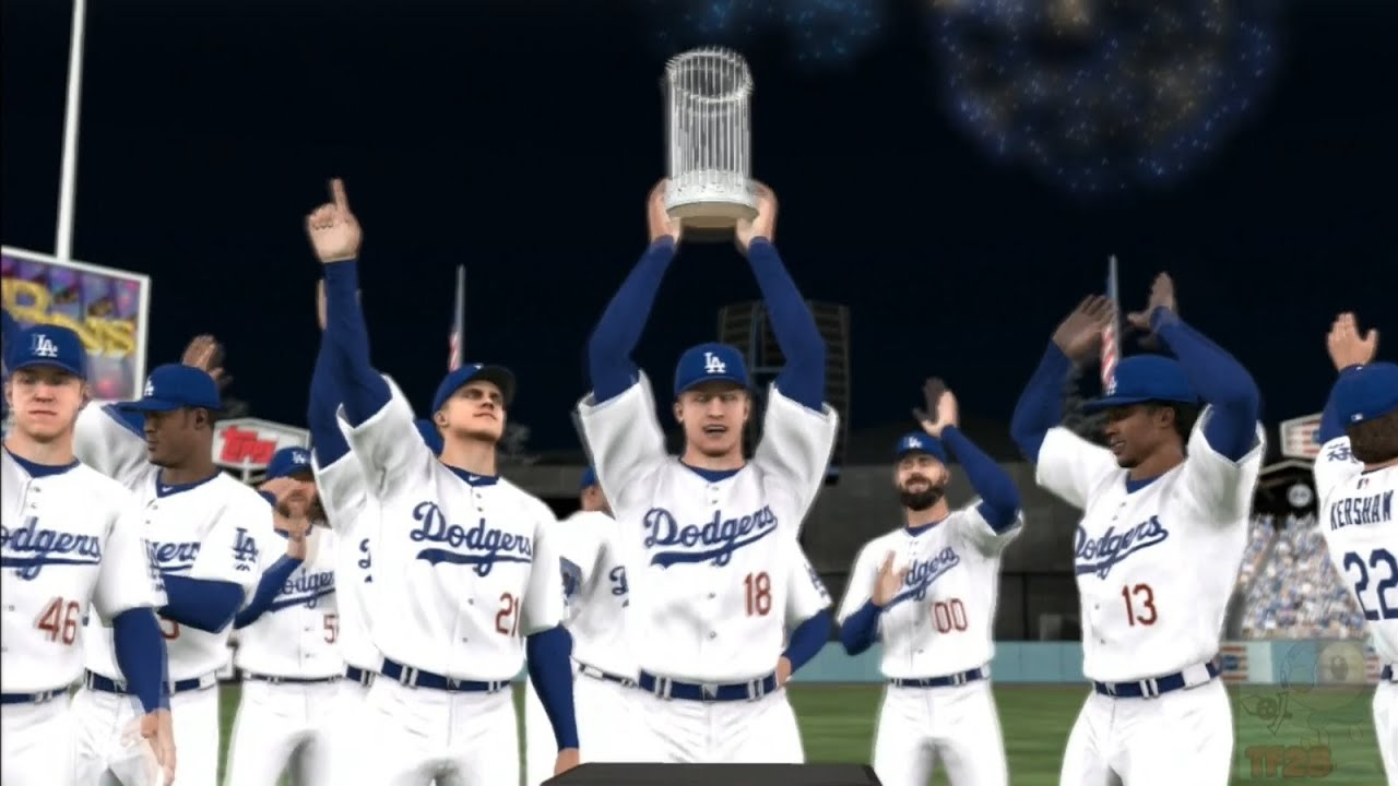 Mlb 14 The Show Los Angeles Dodgers World Series