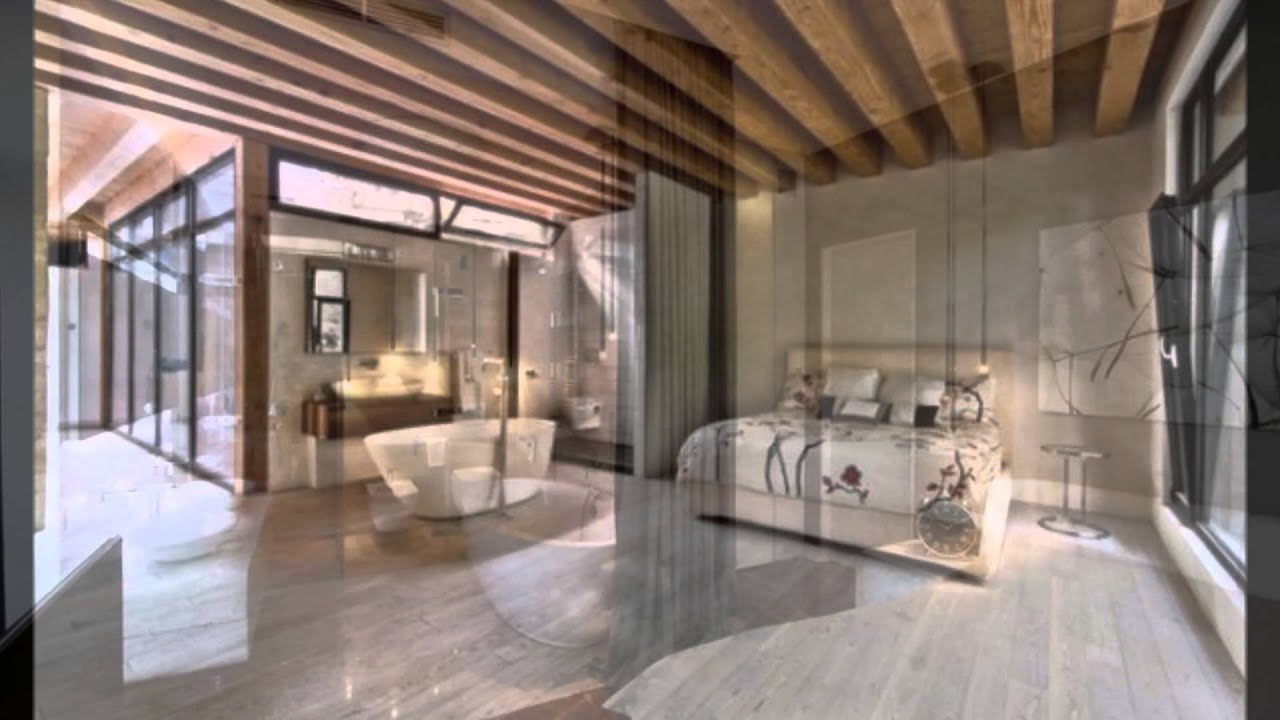 Creating an open plan en suite bathroom youtube for Open plan bedroom bathroom ideas