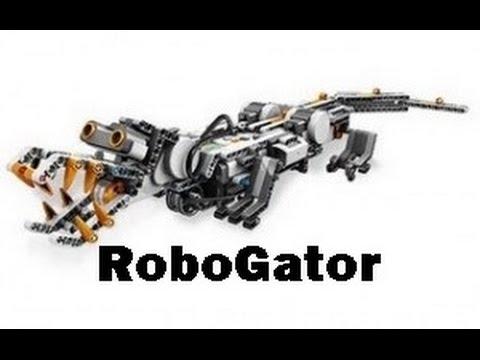 Lego Mindstorms RoboGator - YouTube
