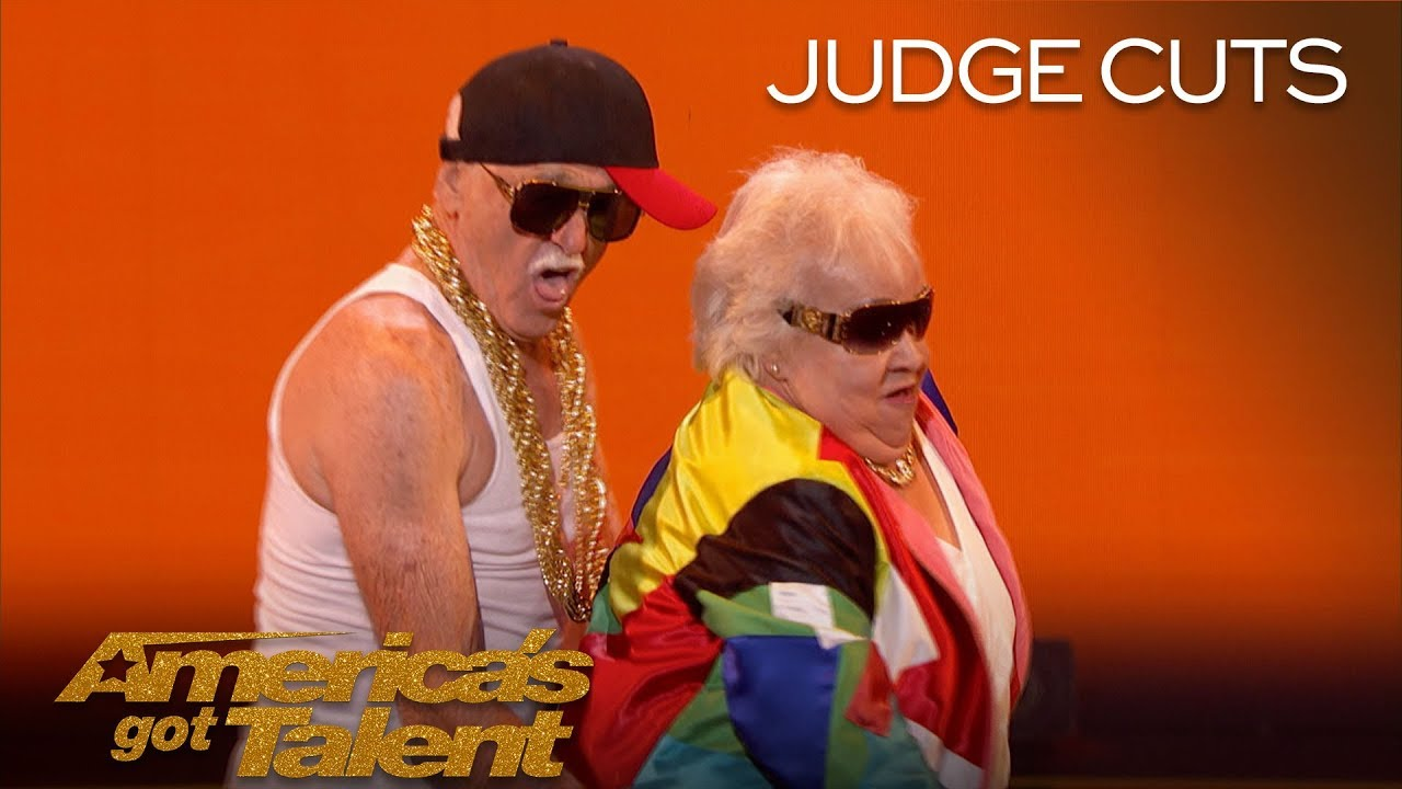 """Celina and Filiberto: Elderly Couple Dances To """"Turn Down For What"""" - America's Got Talent 2018"""