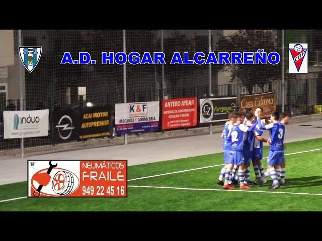 HOGAR ALCARREÑO 4 - 0 PANTOJA. 16 NOVIEMBRE 2019   NEUMATICOS FRAILE  .GUADALAJARA ESPAÑA.