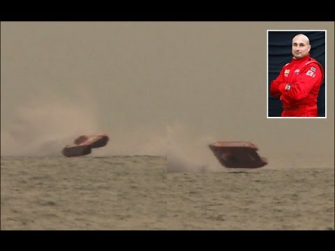UIM class 1 CRASH offshore powerboat racing Gabon 2012