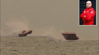UIM class 1 CRASH offshore powerboat racing Gabon 2012