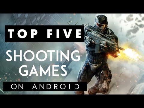Top 5 shooting games on Android | #Top5GamesOnAndroid #bestgame2019