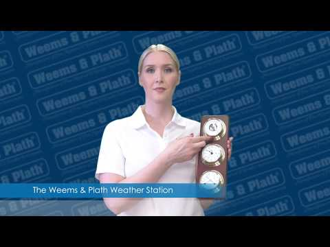 Weems And Plath Weather Station Open Box