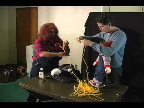 Chris Sarandon helps Chucky