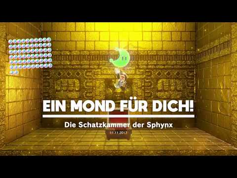 Super Mario Odyssey ~ Wüstenland ~ Mond Nr 51 ~ Die Schatzkammer der Sphynx