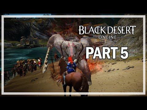 Black Desert Online Lets Play Part 5 Alejandro Farm - Dark Knight Gameplay