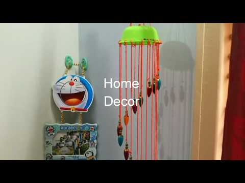 DIY || Home Decor || Attractive Wind-Chime made by retired products