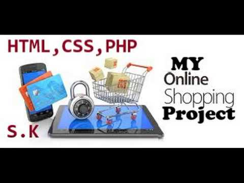 Online Shopping Project By Using Html,css And Php
