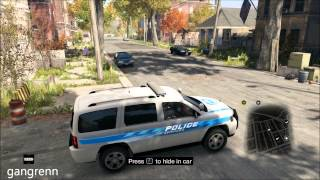 Watch Dogs - Police patrol