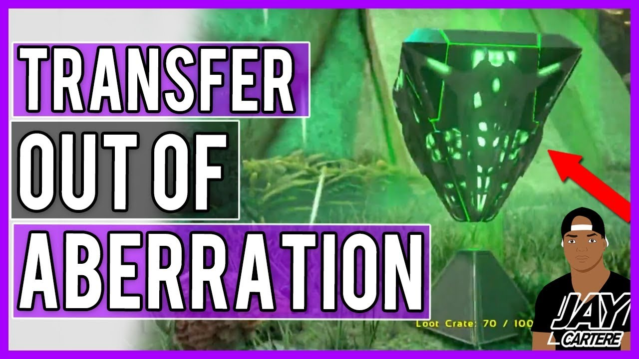 Ark PS4 Tutorial - How to Transfer From Aberration To Another Server on PS4