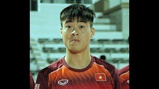Duy Mạnh, Quang Hải cười phớ lớ trước ngày chiến Thái Lan tại King's Cup 2019