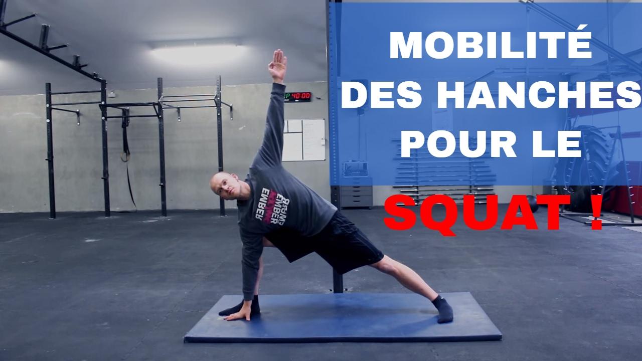 7 Minutes Pour Ameliorer Sa Souplesse De Hanches Et Son Squat Mobilite De Hanche Pour Le Crossfit Youtube