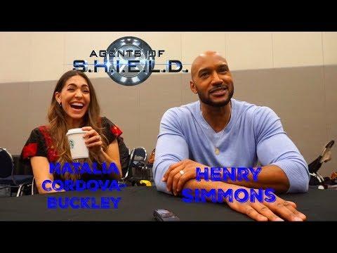 Agents of SHIELD: Natalia CordovaBuckley & Henry Simmons