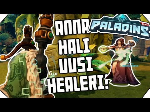 Tää uusi healer on liian hyvä! - Paladins #5