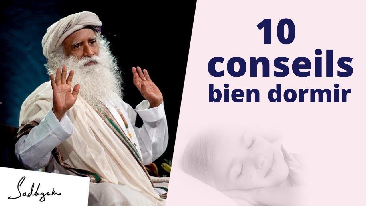10 conseils pour bien dormir et bien se réveiller chaque jour ! | Sadhguru Français