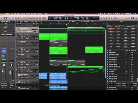 Logic Pro X CHALLENGE! - Making A Track Using Only Logic Plugin/Instruments! PART 1