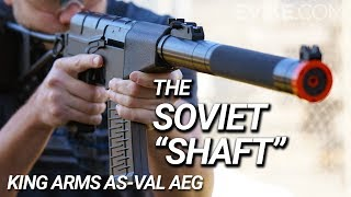 """The Soviet """"Shaft"""" - King Arms AS-VAL AEG"""