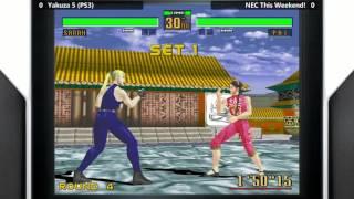 Yakuza 5 (PS3) - Virtua Fighter 2 @ Club Sega [720p/60fps]