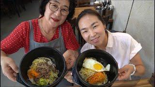 |TẬP 54| LÀM CƠM TRỘN THỐ ĐÁ THỊT BÒ VÀ TRỨNG NGON TUYỆT ĐỈNH! MAKING BIBIMBAP! 돌솥 비빔밥 만들기 !