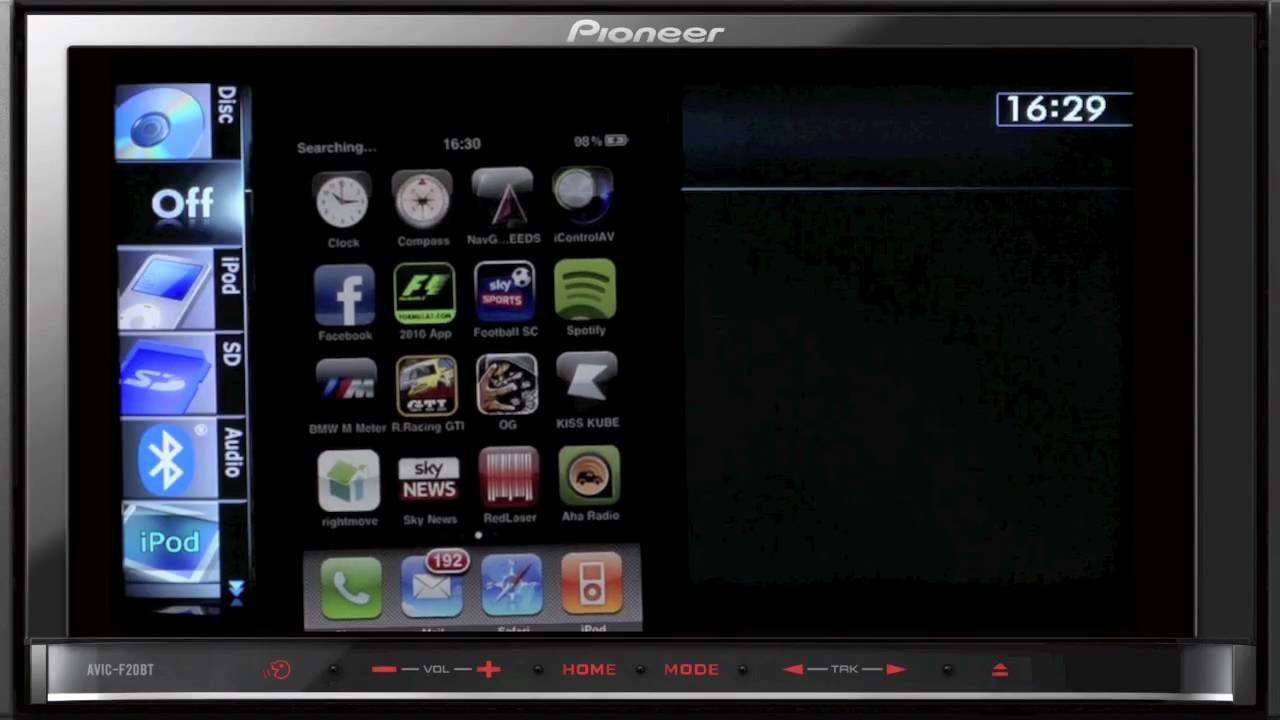 Pioneer AVIC-F20BT GPS Navigation Download Drivers