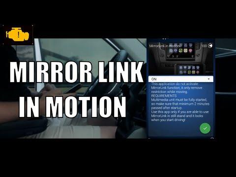 volkswagen mirrorlink activation code