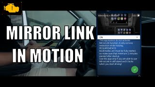Mirrorlink in motion - How to active using Obdeleven - Aktywacja mirrorlink w ruchu