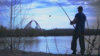 Рыбалка в майский жаркий день в Новосибирске Иня Обь