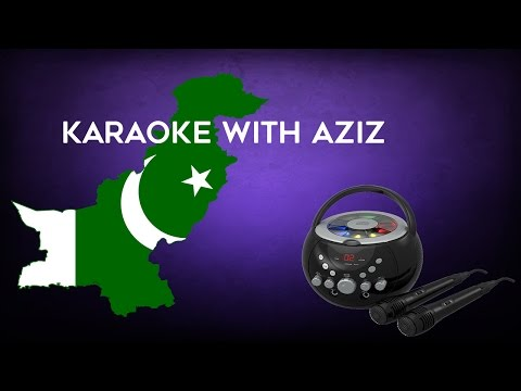 Funny Karaoke with Aziz!