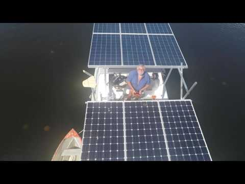 Aircraft carrier... propelled by revolutionary zero emission Solar Energy