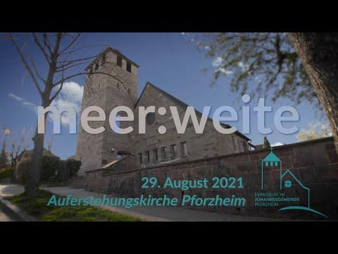 meer:weite 29. August 2021 Johannesgemeinde Pforzheim mit Pfarrerin Heike Springhart #ekibageistlich