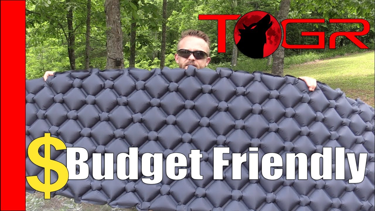 a70521ad8c5 Inexpensive! - OutdoorsmanLab Ultralight Sleeping Pad - Review - YouTube