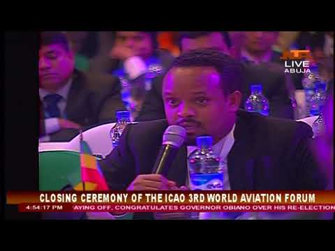 Closing Ceremony of the ICAO 3rd World Aviation Forum