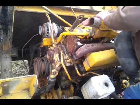 John Deere 892DLC 466 engine