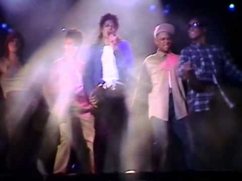 MJ   The Way You Make Me Feel Bad Tour live at Wembley 88