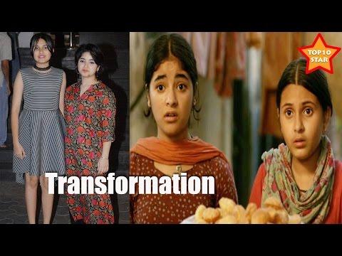 DANGAL Movie Girls Transformation   Geeta Babita Unseen Real Life Pictures