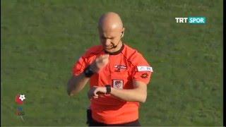 1461 Trabzon 1-1 Giresunspor PTT 1.LİG Maç Özeti 15.Hafta (12.12.2015)