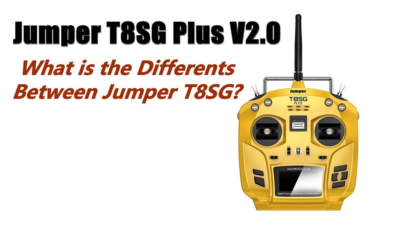 Jumper T8SG Plus V2 0 : Preview Design and Specs