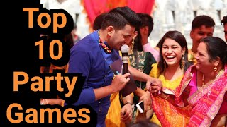 10 Fun & Easy Party Games for kids & Adults| Best Party Games | Couple Games | Event games Ideas