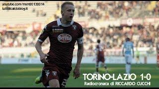 TORINO-LAZIO 1-0 - Radiocronaca di Riccardo Cucchi (8/12/2013) da Radiouno RAI