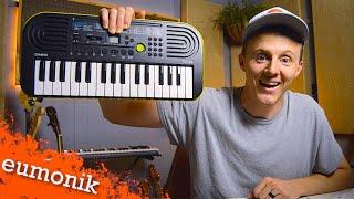 Cheap music keyboard BEAT MAKING! Casio SA-46