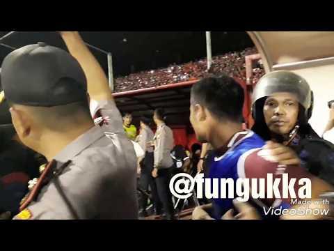 Ricuh Usai PSM Makassar Melawan Bali United