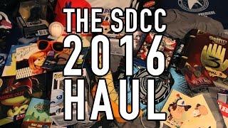 My 2016 San Diego Comic Con Haul #SDCC16