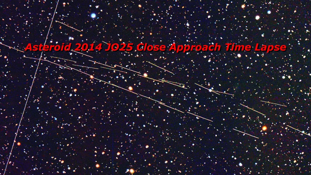 asteroid 2014 jo25 - 1280×720