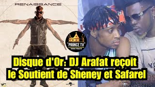 Disque d'Or, Arafat DJ reçoit le soutient de Safarel et Ariel Sheney | PRIINCE TV