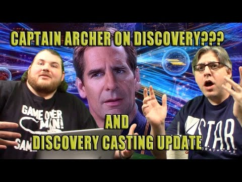 Mission 010: Archer on Discovery, Jason Isaacs, and More!-Discovering Discovery Pt. 5