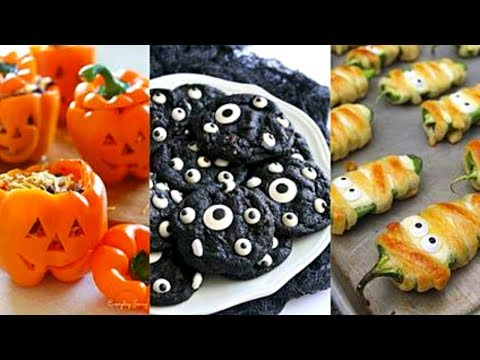 DIY Halloween Food Ideas | EASY Halloween Party Food