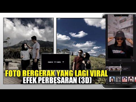 Cara Edit Video Bergerak Zom New Trend Yang Lagi Viral Di TikTok Terbaru