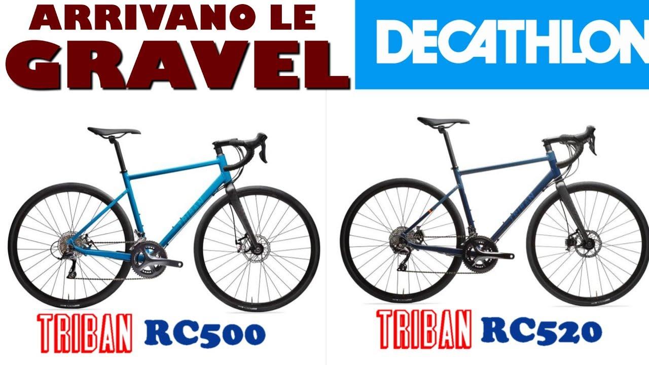 DECATHLON: Gravel Triban RC 500 e Triban Rc 520